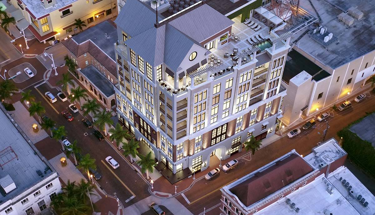 New Development in The Historic River District of Downtown Fort Myers